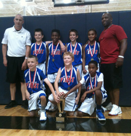 Athletes First 4th Grade team wins Super 64 Grassroots National Championship in Frisco, TX.