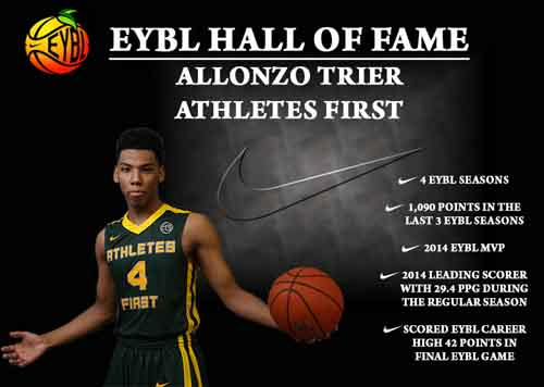 2015 Allonzo Trier at Peach Jam